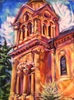 Shelley Howard / Basilica Bell Tower 12 x 16, pastel $650