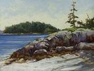 Sarah St. George / North Beach Revisited 9 x 12, pastel $725