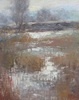 Lamya Deeb / Winter Wetlands 8 x 10, oil $850