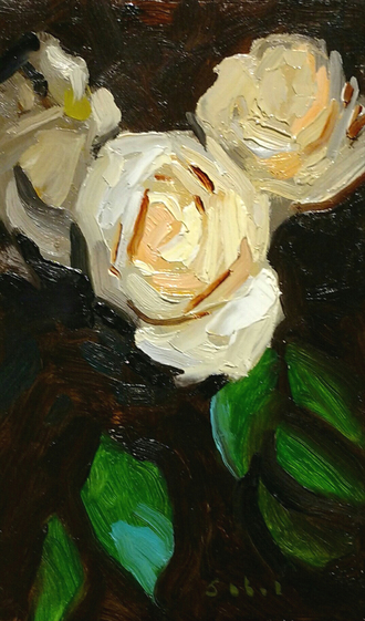 White Rose ( Detail)