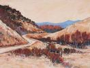 Cary Hansen / North of Red Rocks 12 x 16, pastel $700
