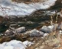 Lucy Yanagida / Cold Creekside 8 x 10, oil $475