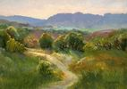 Cecy Turner / Cross Mountain Trail 9 x 12, oil $750