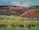 Barbara Churchley / Sageland 11 x 14, pastel $900