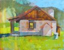 Victoria Ekelund / The Cabin 11 x 14, oil $650