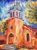 Shelley Howard / Iglesia San Jose 12 x 16, pastel $650