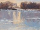 Kathleen Reilly / Icy Reflections 9 x 12, oil $675