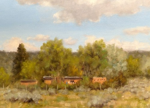 Summer Day - Taos