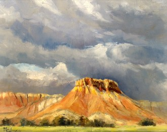 Storm Over Ghost Ranch