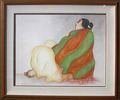 Woman with Blanket, 1980 ( Call for availabilty in gallery )