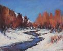 Cary Hansen / Bear Creek 10 x 12, pastel $600