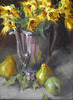 SOLD   Sunflowers and Pears