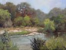 Chuck Mauldin / Blanco River 9 x 12, oil $800