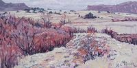 Bill Meuser / Over Yonder 12 x 24, oil $1300