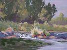 Colleen Smith / Water Source 9 x 12, oil $567
