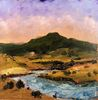 Paul Darrah / Cerro Pedernal 6 x 6, oil $455