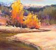 Jane Christie / Upper Bear Creek Journey 12 x 14, pastel $950