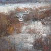 Lamya Deeb / Winter Wetlands II 8 x 8, oil $650