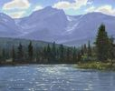 Lee MacLeod / Sprague Lake Afternoon 11 x 14, oil $900